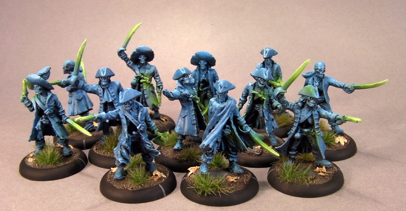 guide painting ghosts and ethereal miniatures painted wargames